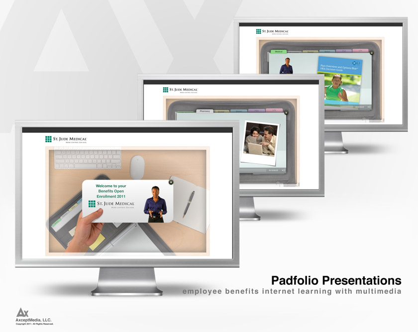 Interactive Padfolio Presentations