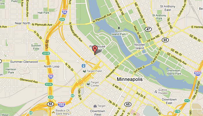 Map to Axcept Media, LLC