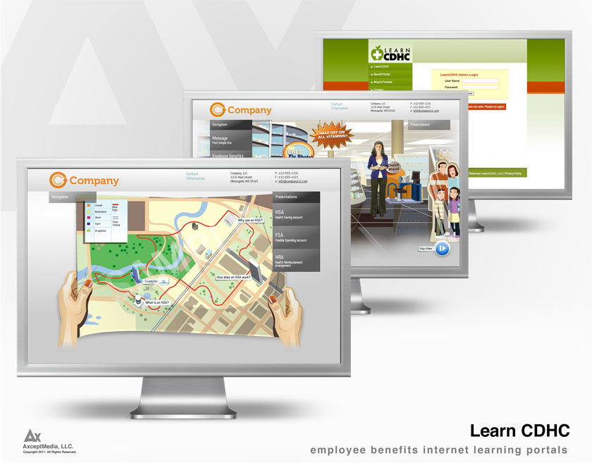 LearnCDHC Web Portal