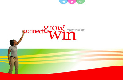 Connect, Grow, Win, together with CCR